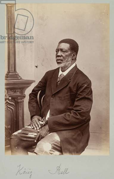 King Bell, Chief Ndumba Lobe, 1890s (gelatin silver print)