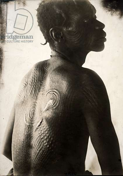 Man, Congo (gelatin silver print)