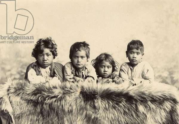 Children, c.1910 (silver gelatin print)