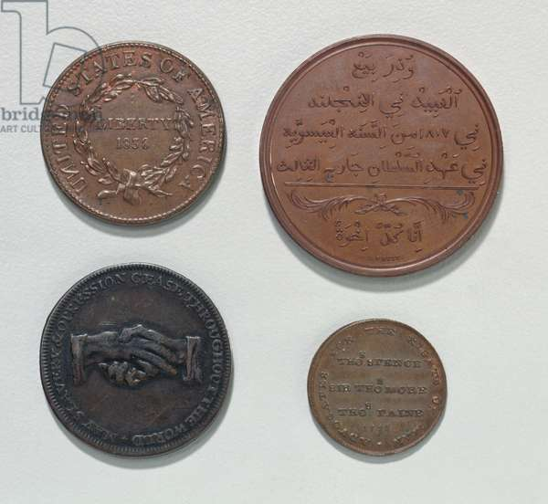 Anti-Slavery Coins and Medals (metal) (reverse) (for obverse see 120616)