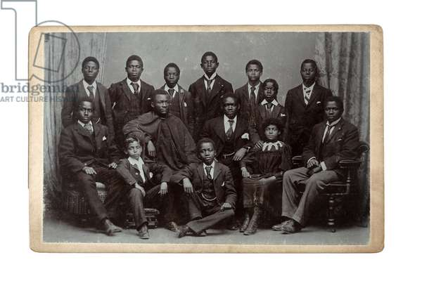 Congo Training Institute for African Students, Colwyn Bay, Wales, 1895 (gelatin silver print)