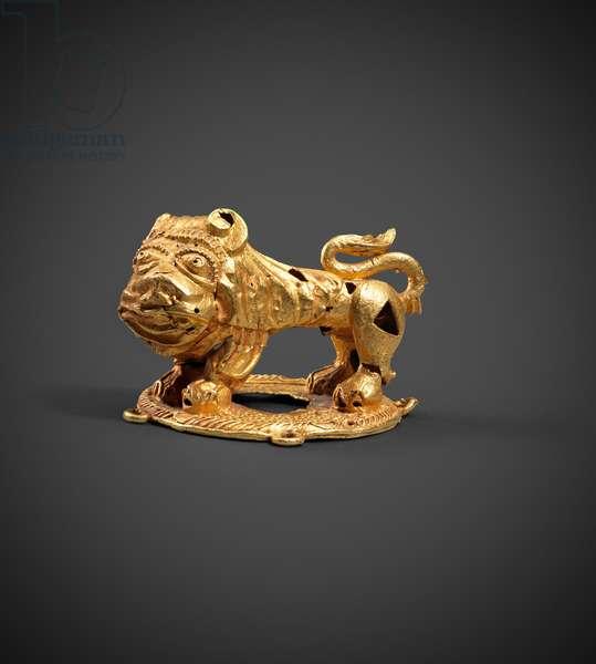 Akan lion (gold)