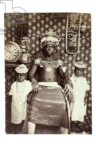 King of Calabar, Nigeria, c.1870 (albumen print)