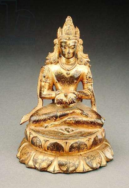 Buddha (gilt bronze)