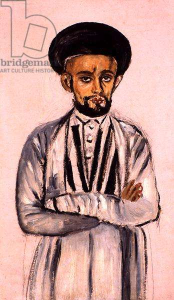 Our butler, Ahmedabad, Mutiny Year, 1857-58 (oil on paper)