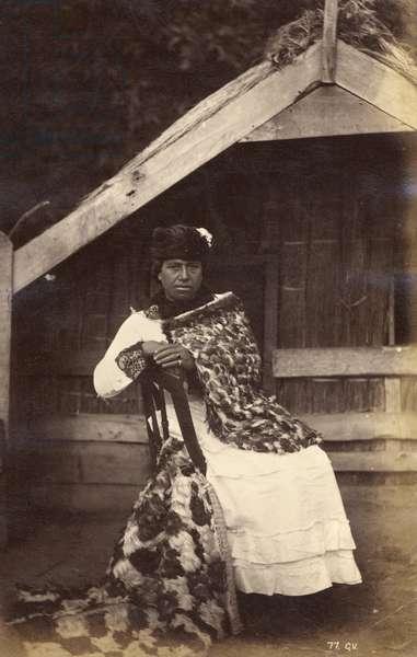 Guide Kate, Te Wairoa, 1885 (albumen print)