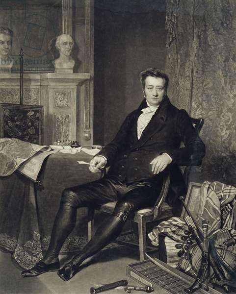 Thomas Clarkson (1760-1846) engraved by Turner (mezzotint)