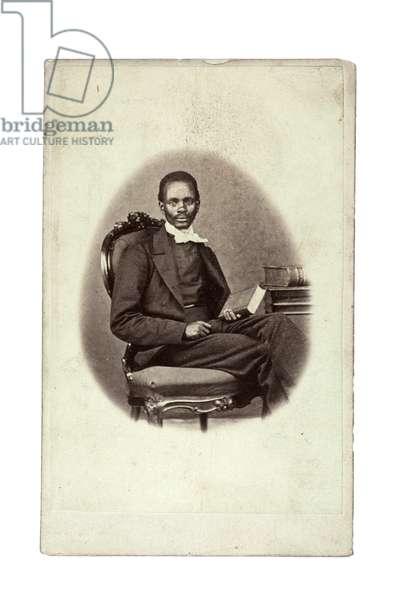 Tiyo Soga, South Africa, late 1860s (albumen print)
