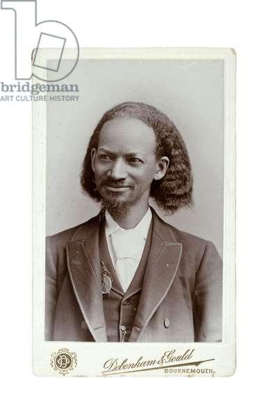 Reverend Thomas L. Johnson, 1893 (gelatin silver print)