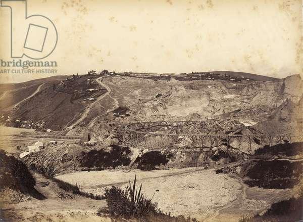 Blue Spur, mid 1870s (albumen print)