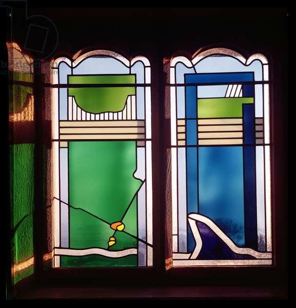 Windows, 1975 (stained glass)