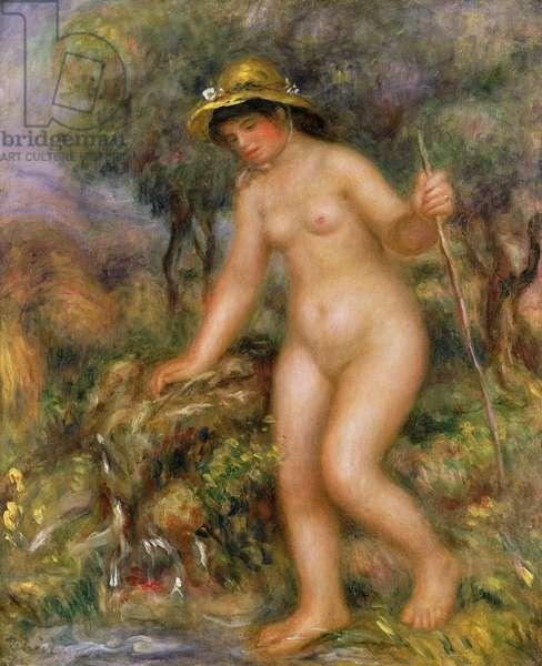 La Source or Gabrielle Nue (oil on canvas)