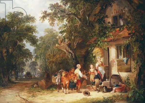 The Rabbit Seller, 1853