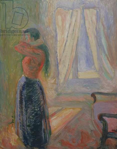 Femme à la Toilette, 1892 (oil on canvas)