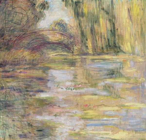 Waterlily Pond: The Bridge