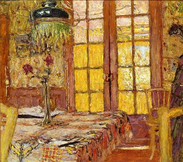 Madame Vuillard dans la Salle à Manger à Vaucresson, c.1919-25 (oil on board)