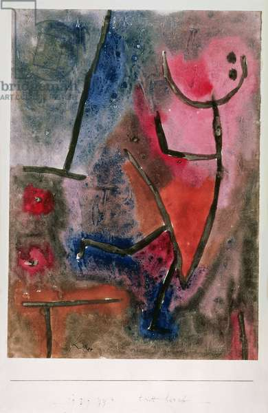 Steps down, 1939 (no 924)(mixed media on paper)