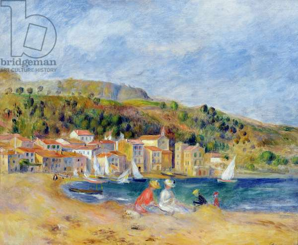 Le Lavandou (oil on canvas)
