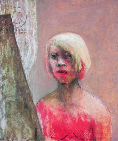Net Curtains, 2006 (oil on canvas)