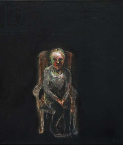 Afraid of Dark, 2010 (oil on canvas)
