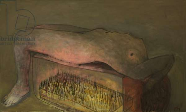Bed of Nails, 2010 (oil on canvas)