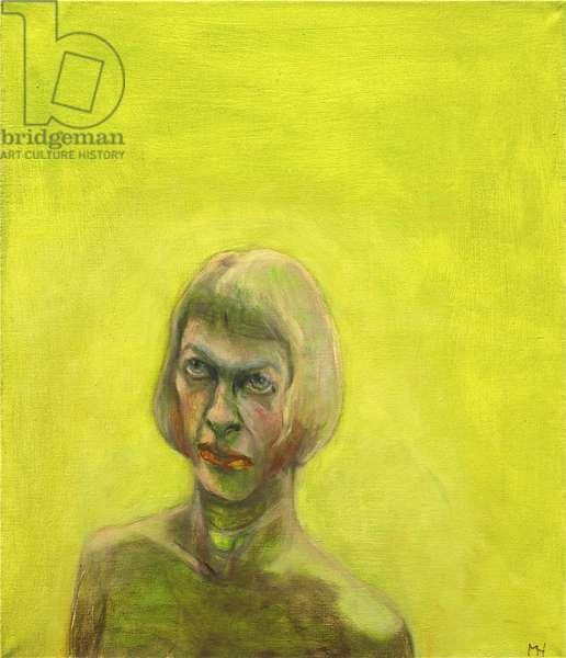 Acid Blonde, 2013 (oil on canvas)