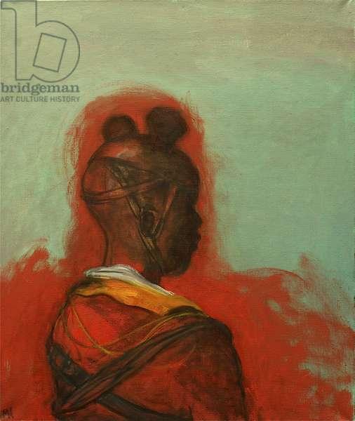 Child Soldier 1, 2012 (oil on canvas)