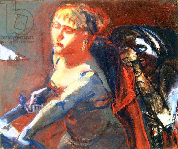 Judith, 1998 (oil on canvas)