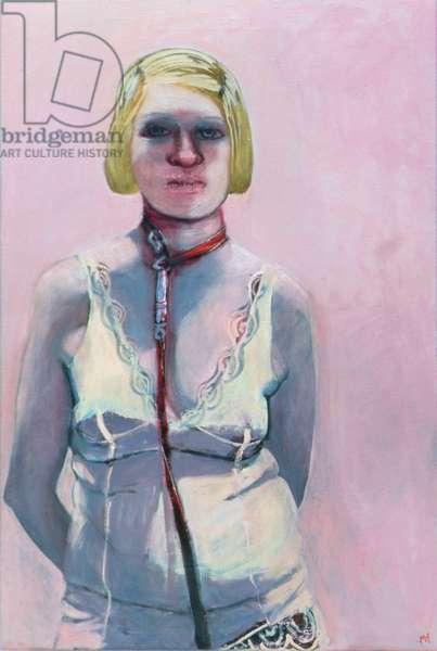 La Charmeuse, 2004 (oil on canvas)