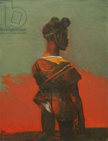 Child Soldier 2, 2012 (oil on canvas)