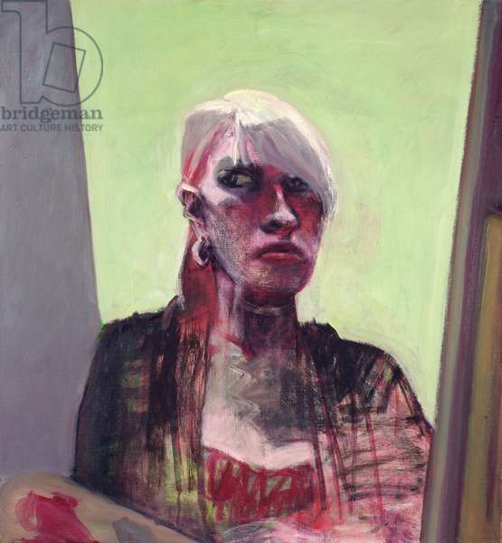 Self-Portrait, painting, 2006 (oil on canvas)