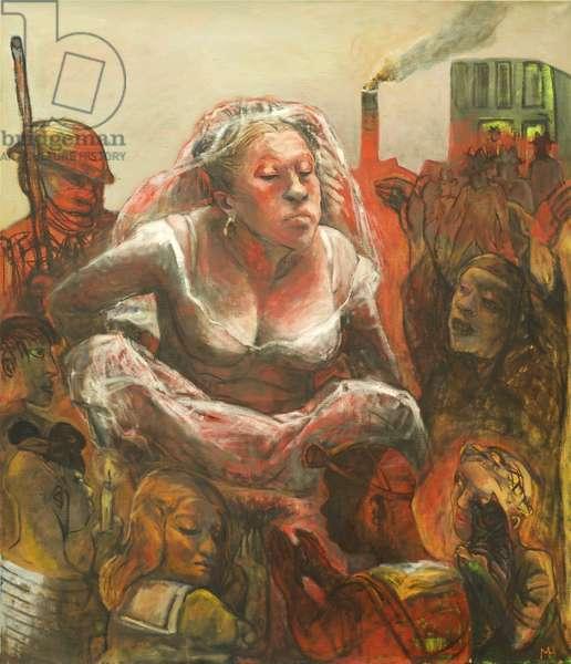 Ritual, 2013 (oil on canvas)