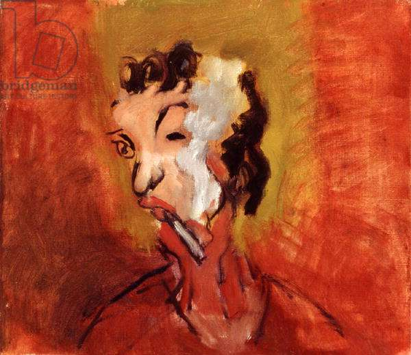 La Fumeuse, 1992 (oil on canvas)