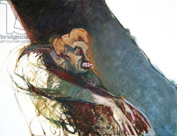 Mama Britte 2, 1992 (oil on canvas)