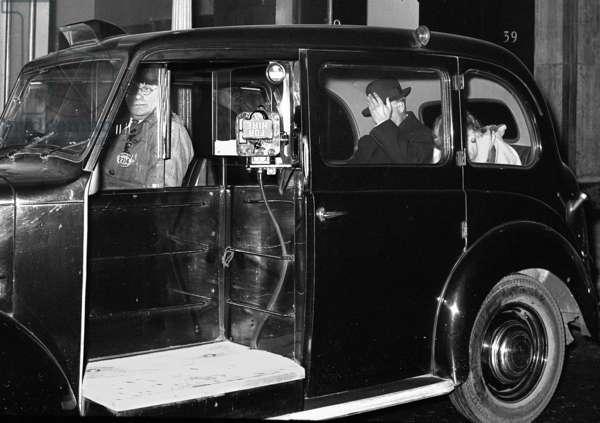 Duke Primo de Rivera with Mrs Greville, London, UK (b/w photo)