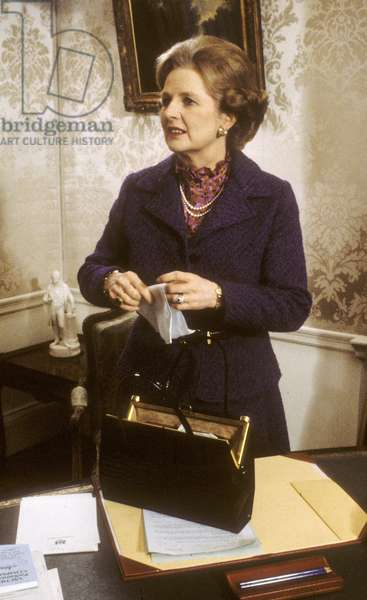 Margaret Thatcher, 10 Downing Street, London, UK, 1979 (photo)