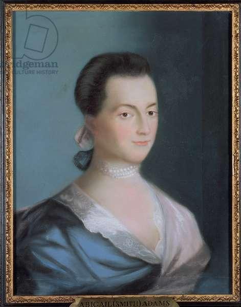 Abigail Smith Adams, c.1766 (pastel on paper)