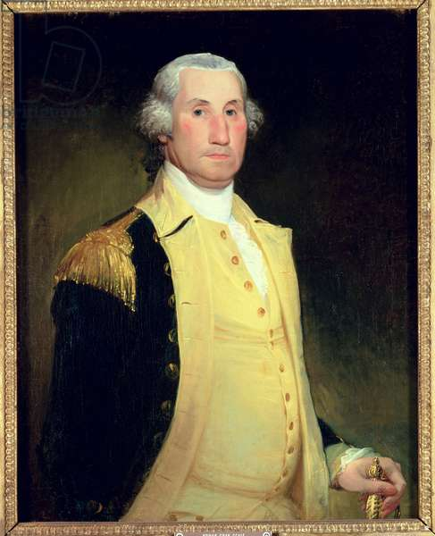 George Washington, 1784-86 (oil on canvas)