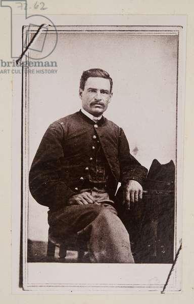 Carte de Visite, Lieutenant Stephen A. Swails, c.1863 (b/w photo)