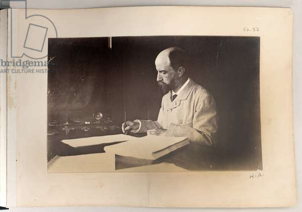 Henry Adams, 1883 (b/w photo)
