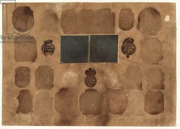 British Revenue Stamps, c.1765