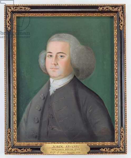 John Adams, c.1766 (pastel on paper)