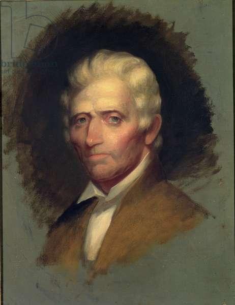 Daniel Boone, 1820 (oil on canvas)