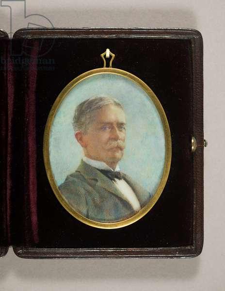 Kingsmill Marrs, c.1910 (w/c on ivory)