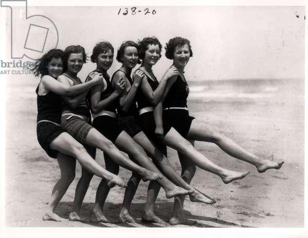Bathing Beauties, 1924 (b/w photo)
