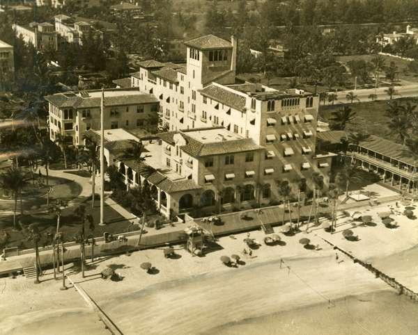 The Pancoast Hotel, Miami Beach, 1933 (b/w photo)