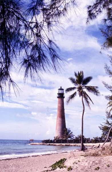 Cape Florida Lighthouse, c.1989 (photo)