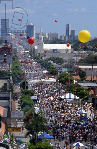 Calle Ocho Festival, 1991 (photo)