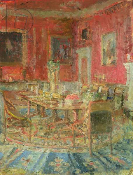 The Dining Room, 1996 (oil on board)