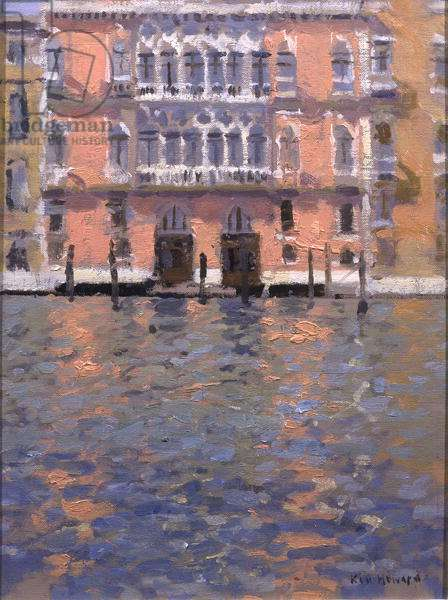 Grand Canal - Reflection (oil on canvas)